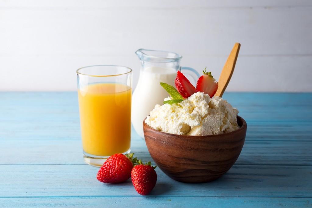 cottage-syr-svacina - Pozor na mléčnou dietu. Ochudí výživu a končí jo-jo efektem