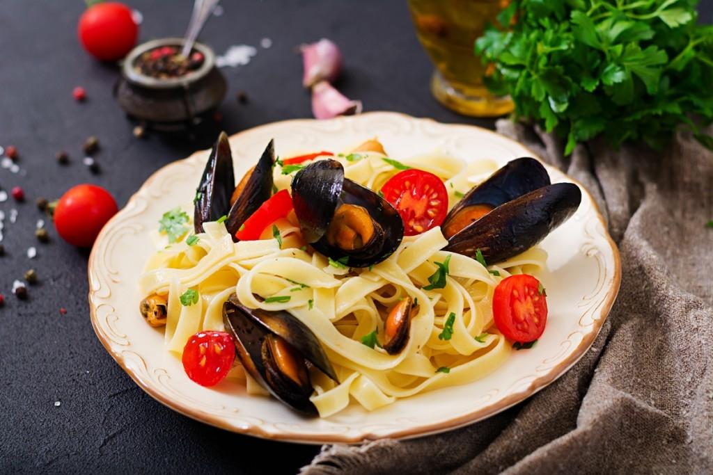 morske-plody-testoviny - Středomořská dieta jako jedno z nejzdravějších dietních opatření