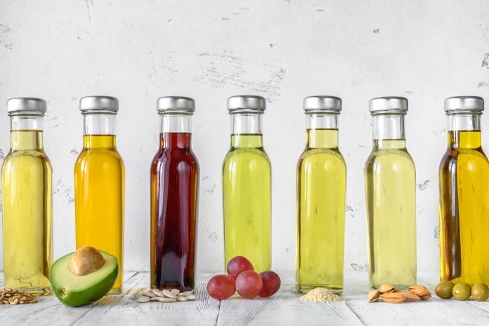 oleje listované za studena