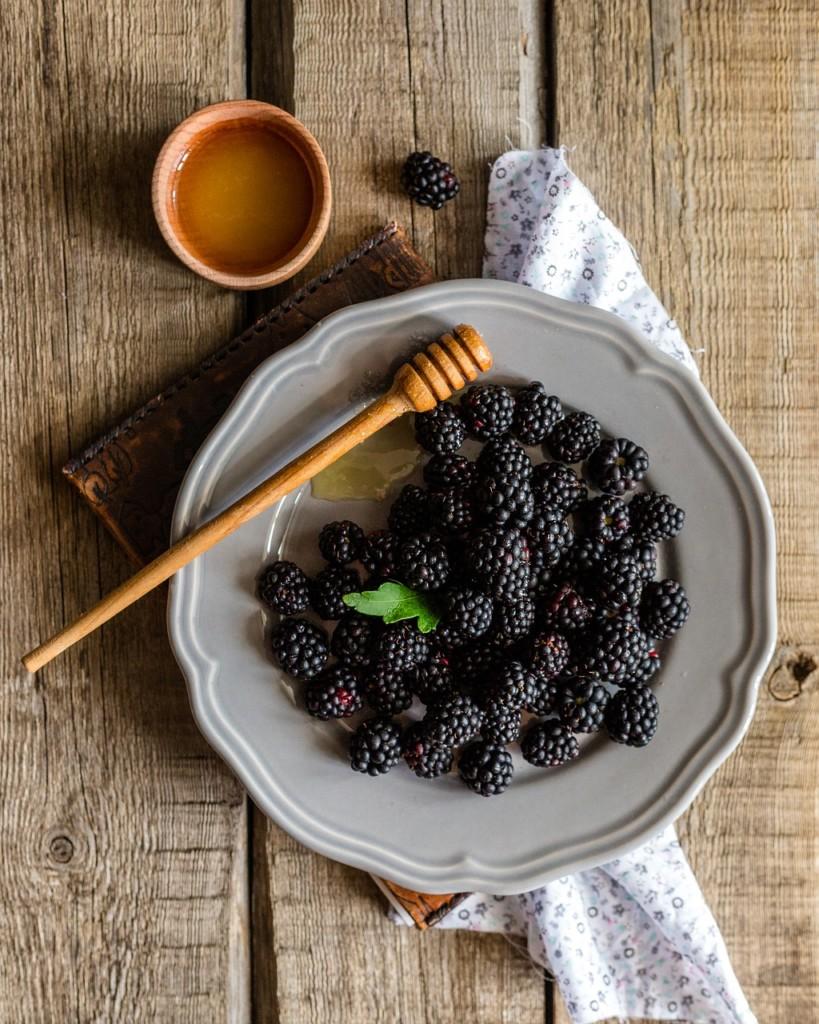 ostruziny - Rychlá, zdravá a ostružinová snídaně