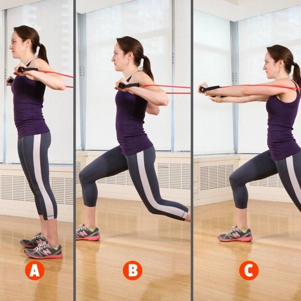 trenink-1 - Rychlý & efektivní trénink s posilovací gumou